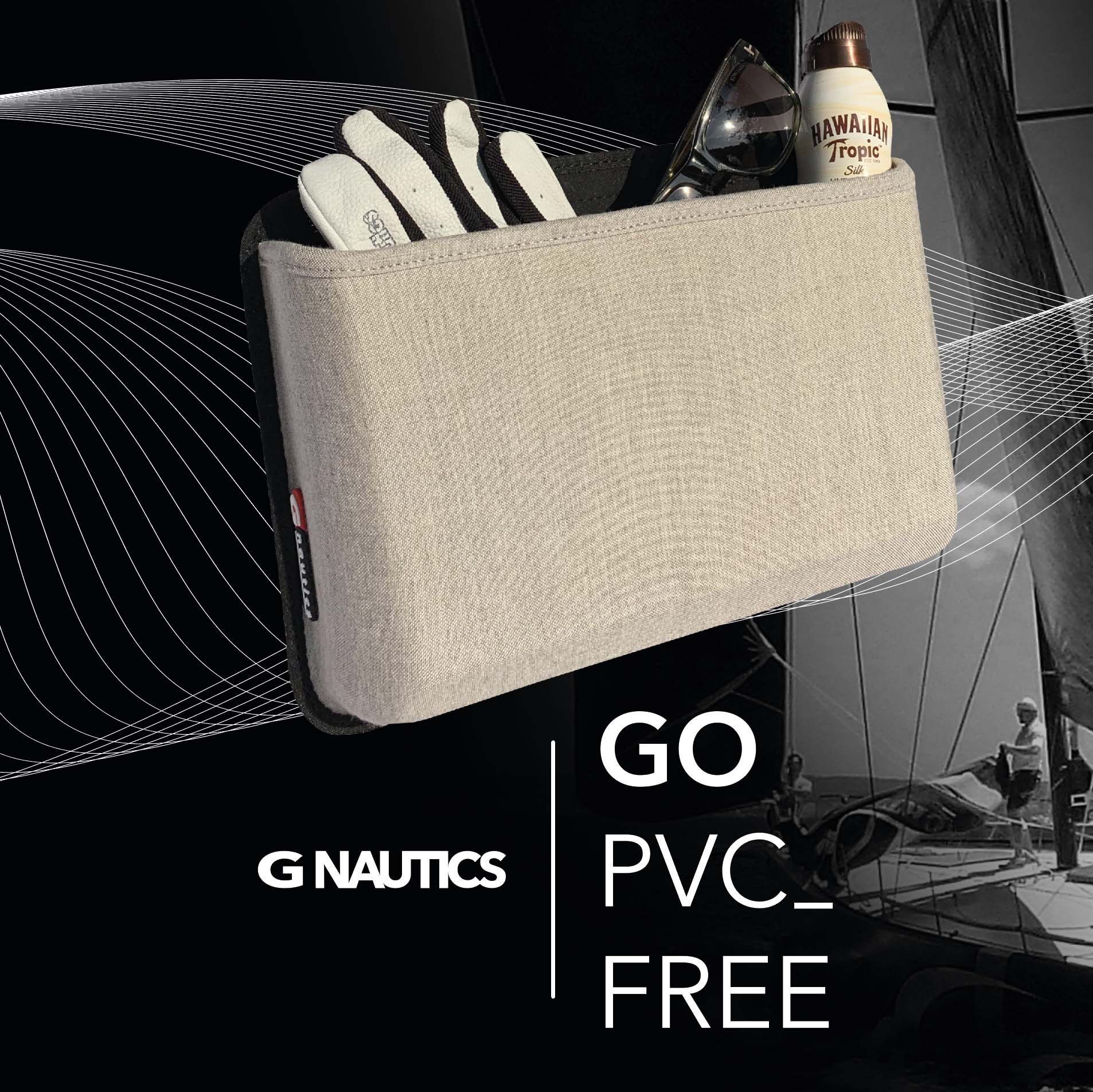 PVC-Free iQ cockpit bag sant