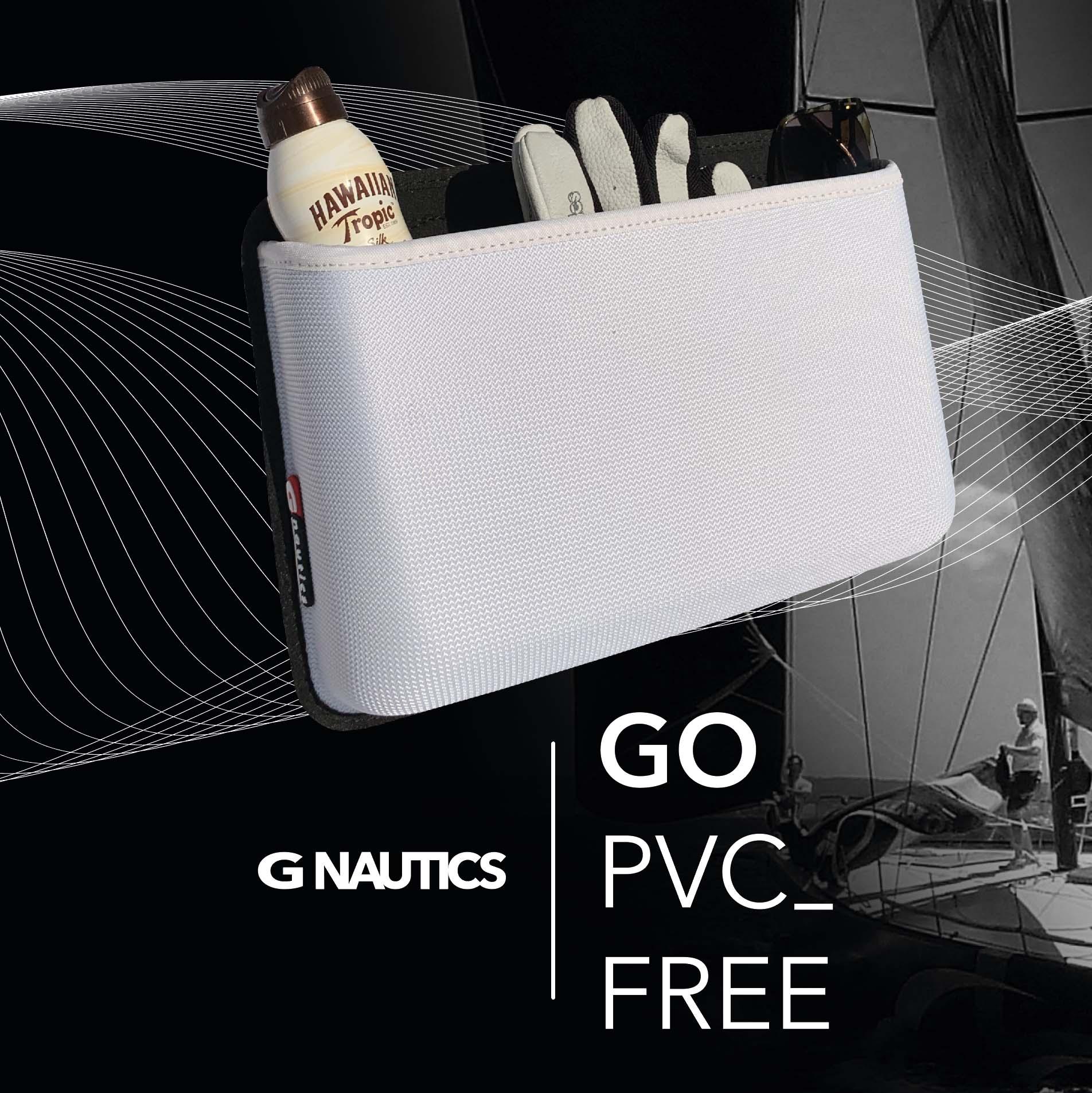 PVC-Free iQ cockpit bag white